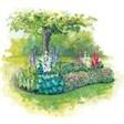 Загородный клуб Юна-Лайф - иконка «сад» в Дрезне